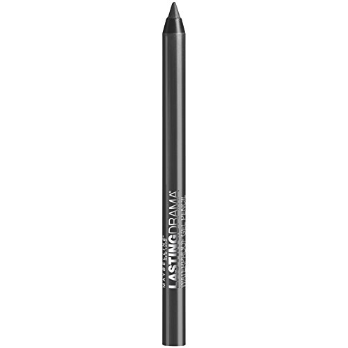 Maybelline New York Eyestudio Lasting Drama Waterproof Gel Eye Pencil, Smooth Charcoal, 0.04 Ounce