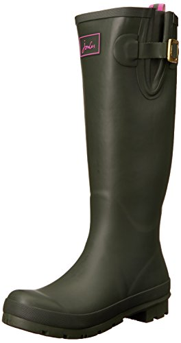 Botas Joules Mujer para Fieldwelly Verde Goma de Verde fWqxBw7Sa