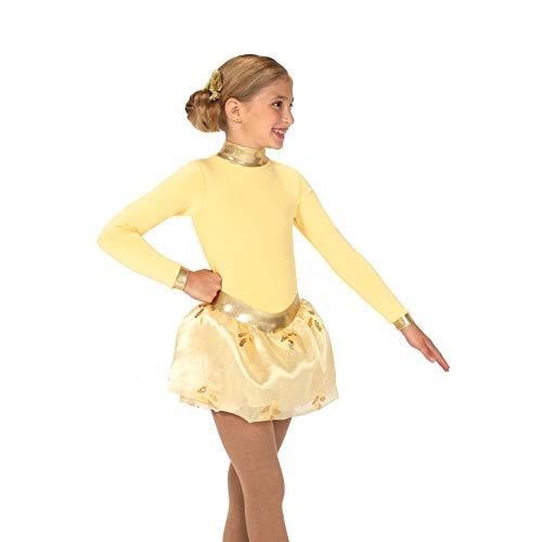 Jerry's Ice Skating Dress - 22 Soft Gold Fleece (Size 8-10)