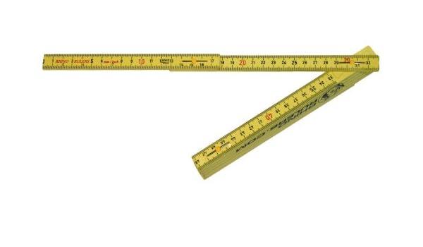 US cinta 55155 1,8 m plegable Inglés/métrica por Rhino regla: Amazon.es: Bricolaje y herramientas