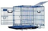 Pet Tek Dreamcrate Professional Series 200 2-Door Crate 24 Inch x 18 Inch x 20 Inch -Blue For Sale