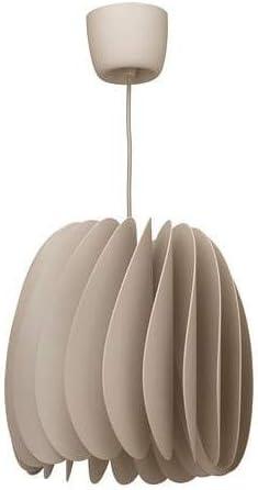 IKEA SKYMNINGEN - Lámpara de techo (A++), color beige: Amazon ...