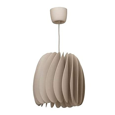 IKEA SKYMNINGEN - Lámpara de techo (A++), color beige: Amazon.es ...