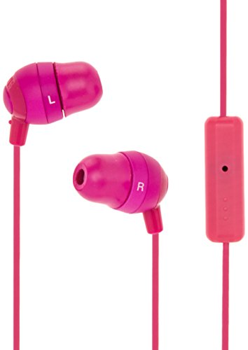 JVC HAFR37P Marshmallow Earbuds with Mic, Pink