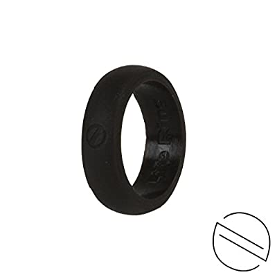 Life Ring - Women's Silicone Wedding Ring for Active Lifestyles | Flexible, Safe and Durable Silicone Wedding Band comes in Aqua, Coffee or Purple in US Sizes | 100% Life Time Replacement Warranty Included!