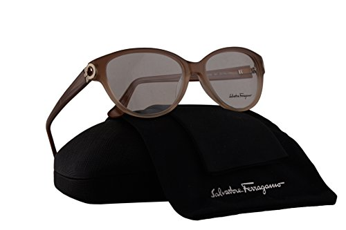 Salvatore Ferragamo SF2735 Eyeglasses 53-15-135 Gradient Beige w/Demo Clear Lens 267 SF - Ferragamo Reading Glasses