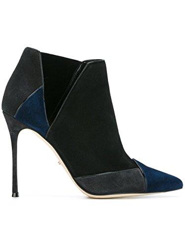 Rossi À Chaussures Noir Sergio A75190MAF9104122 Femme Talons Suède gPqaxdw