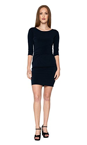 Velvet by Graham & Spencer Margarita Dress in Midnight (Small)