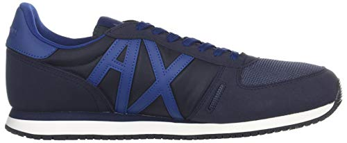 Exchange X Retro Running Men Armani A Navy Eqx4Ux