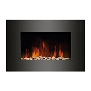 Truflame Wall Mounted Electric Fires Fire Fireplace Curved