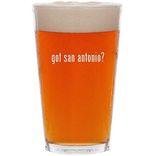 - got san antonio? - 16oz Pint Beer Glass