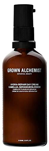 Grown Alchemist Hydra-Repair Day Cream – Camellia Geranium Blossom Nourishing Face Moisturizer 100 Milliliters, 3.38 Ounces