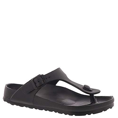MIA Shoes Women's Jaxx Slide Sandal, Black, 8 Medium US