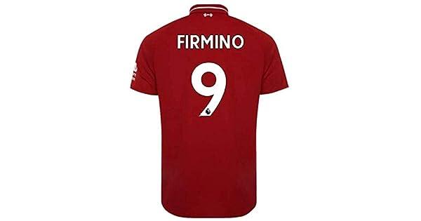 1a4881eba5218 Scshirt Playera de fútbol para Hombre Liverpool Home Jerseys  9 Firmino Jerseys  2018-2019 Red - Jersey de fútbol