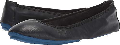 (Me Too Women's Tru Blu Ballet Flat,Black Nappa Leather,US 8 M )