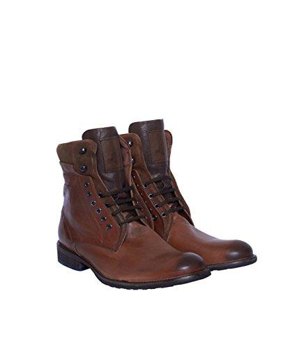 Floris van Bommel Homme Bottes Bottines Boots-Coton-Marron -  marron - 44