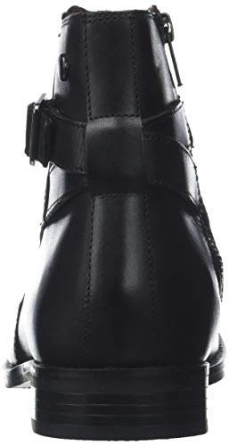 Homme Noir waxy Bottes Fern Black amp; 010 London Bottines Base Souples wFTYqY