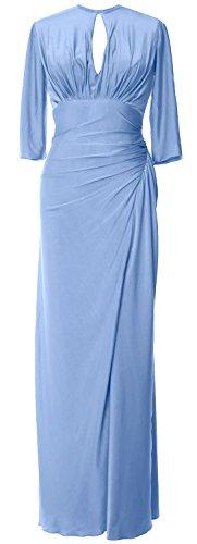 Sleeve Evening Half Bride MACloth of Himmelblau Mother Long Gown Women Formal Jersey Dress Egqqp
