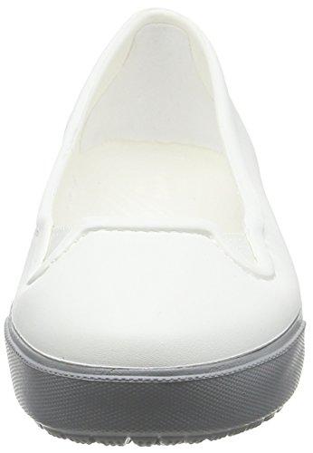 Ballerines Crocs Citilaneflatw white Femme Blanc 66F50qxrw