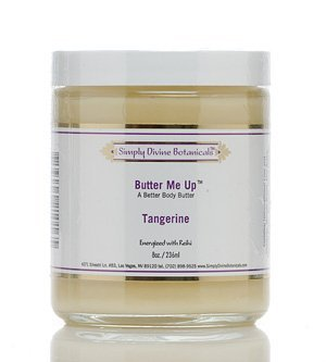 Butter Me Up Tangerine Hand and Body Butter 8 oz by Simply Divine Botanicals