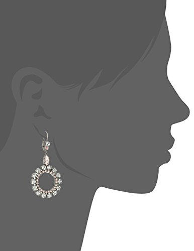 Sorrelli Crystal Rose Luxe Loops Drop Earrings by Sorrelli (Image #2)