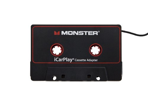 Monster iCarPlay Cassette Adapter 800 for iPod and iPhone -3 feet