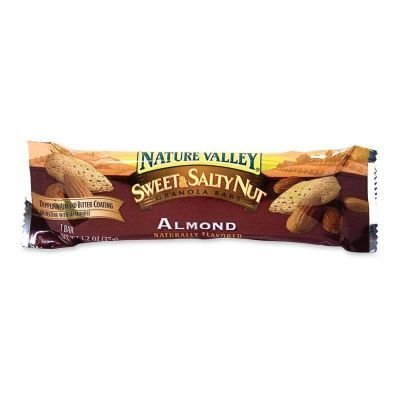 Advantus Corp. Products - Sweet and Salty Bars, 1.2oz, 16/BX, Almond - Sold as 1 BX - Bursting with peanuts and oats, this wholesome snack is dipped in a creamy peanut butter coating. The natural goodness of Nature Valley granola bars provides the fuel you need to maintain an active and healthy lifestyle. by Advantus Corp. - Products -