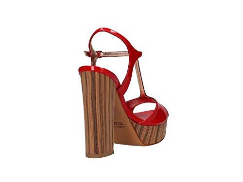 vestir de ALBANO Sandalias mujer para roja zxfPwYq