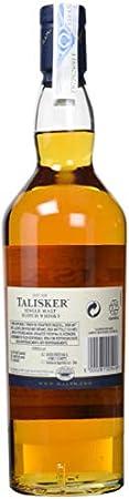 Talisker Whisky escocés de 10 años de edad 70cl (paquete de 70 cl)