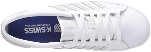 white silver Sneaker Donna swiss Belmont K So 154 Bianco white WPxYx0g