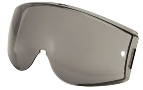 Uvex by Honeywell Gray Polycarbonate Replacement Lens With Uvextreme Anti-Fog, Anti-Scratch, Anti-UV And Anti-Static Coating For Use With Stealth Safety Goggle