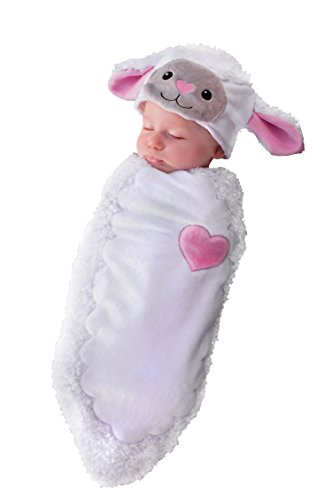 Princess Paradise Baby Rylan The Lamb, White, One