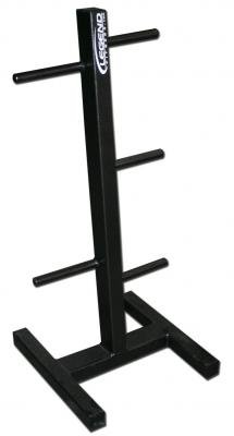 Legend Fitness 3112 USA-Made Heavy-Duty Plate Tree for Standard or Olympic Weight Lifting Plates - Combo Weight Plate Rack - Weight Plate Storage by Ironcompany.com