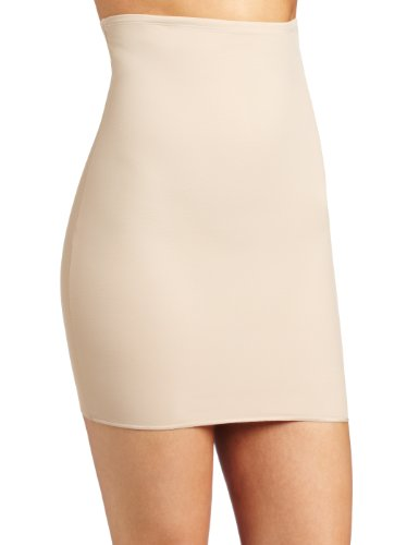 Barely There Shapewear (Barely There Women's Second Skinnies Slimmers Reversible Hi-Low Waist Slip, Nude, XX-Large)