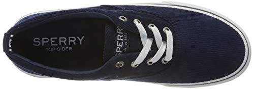 Sperry mens Striper Ii Cvo Corduroy Sneaker, Navy, 12 US