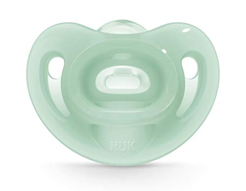 NUK Sensitive Orthodontic Pacifiers, Boy, 6-18 Months, 2-Pack