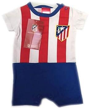 FUTBOL Body Bebe Atletico de Madrid equipación - 12Meses