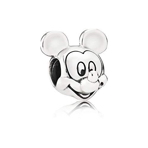 [판도라] PANDORA Disney 디즈니 미키 Portrait 매력 (실버) 정식 수입품 791586