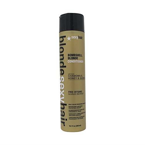 Sexy Hair Blond Bombshell Blonde Sulfate Free Daily Conditioner, 10.1 Ounce by Sexy Hair