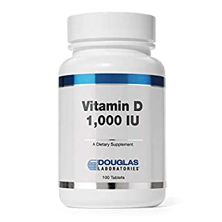 Douglas Laboratories - Vitamin D (1,000 I.U.) - Vitamin D3 Health Supplement - 100 Tablets
