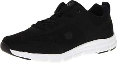 C1RCA Men's Sigma Fashion Sneaker,Black/White,10 M US