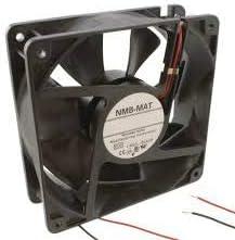2-Wire 12VDC NMB TECHNOLOGIES 11938KA-12L-EA-00 DC Fans DC Axial Fan Flange 108CFM 119x38mm