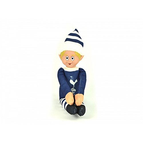 fan products of Tottenham Hotspur FC Official Soccer Christmas Team Elf (One Size) (Navy/White)
