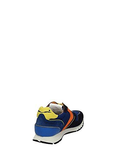 Voile Blanche hombre bajas zapatillas de deporte LIAM SPOILER azul-amarillo Azul