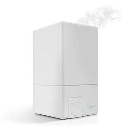 Serene Life Cool Mist Ultrasonic Humidifier | 4.1L Large Cap