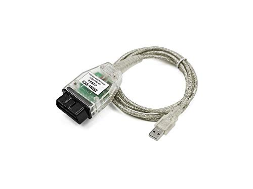 Yueku Mini VCI J2534 Toyota TIS Techstream Cable 2.0.4 Firmware Car OBD2 Diagnostic Cable V13.30.018 (Updated Version)