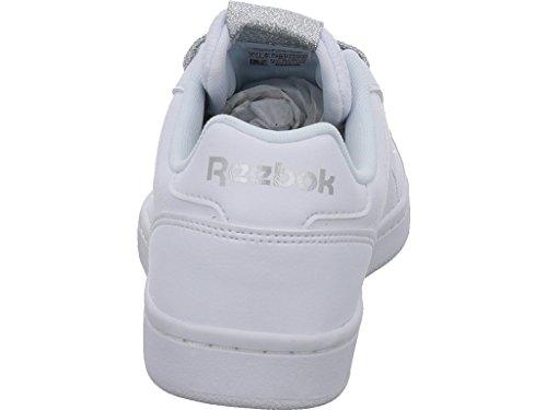 Royal Scarpe Metallizzato G da Silvet Met Donna CLN White Fitness Argento Reebok Blanco Complete fqdzxUwxn6