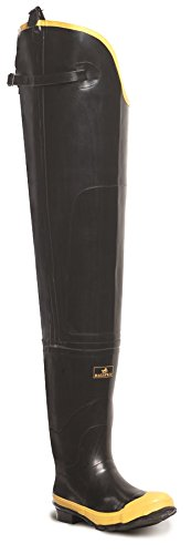 Lacrosse Men's Economy Hip 32 Inch Steel Toe Boot,Black,7 M US