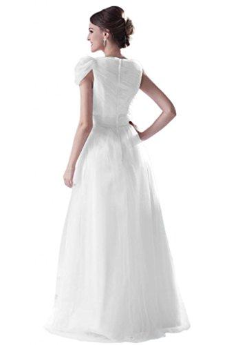 Nero elegante Gowns Sunvary spalla donna Una da taglia AqS0v6n