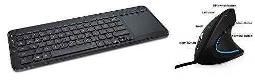 Microsoft Wireless All-In-One Media Keyboard  | Ergy - The E